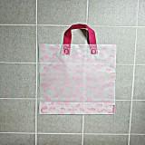 물방울 핑크 나시즈비닐 쇼핑백