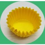 노랑 유산지컵 28mm(250 장)