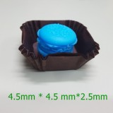 사각머핀컵 초코 45mm 약200매