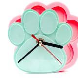 강아지발 방향제 시계 수제 실리콘 몰드