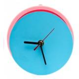 원형 방향제 시계 (대) 수제 실리콘 몰드