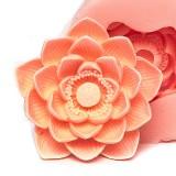 연꽃입체 수제몰드