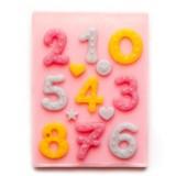 숫자 1~10 수제 데코몰드 (m71)