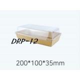 DRP - 12  샌드위치 용기 100개 (크라,화이트)