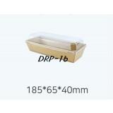 DRP - 16  샌드위치 용기 100개  ( 크라)