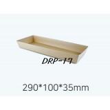 DRP - 17  샌드위치 용기 100개  ( 크라)