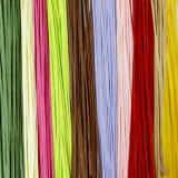 라피아 종이타이(200개)-10가지칼라색